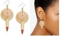 Lucky Brand Gold-Tone Threaded Statement Earrings