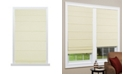 "US Shade & Shutter Cordless Texture Look Room Darkening Fabric Roman Shade, 36""x64"""