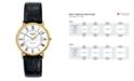 Longines Men's Swiss Automatic La Grande Classique Presence Black Strap Watch L48212112