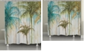 Laural Home Watercolor Palms Shower Curtain