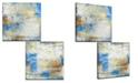 Ready2HangArt 'The View I/II' 2 Piece Abstract Canvas Wall Art Set, 20x20""