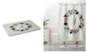 Deny Designs Iveta Abolina Silver Dove Christmas I Bath Mat