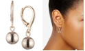 Lauren Ralph Lauren Metal Ball Drop Earrings