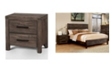 Furniture of America Bahlmer Transitional Style Nightstand
