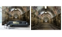 Brewster Home Fashions Graffiti Tunnel Wall Mural