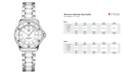 TAG Heuer Women's Swiss Formula 1 Diamond (1/3 ct. t.w.) Stainless Steel and White Ceramic Bracelet Watch 32mm