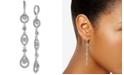 Givenchy Crystal Linear Drop Earrings