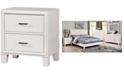 Furniture of America Realm 2-drawer Nightstand