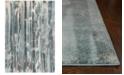 "Kas Illusions Moderne 6211 Teal 6'7"" x 9'6"" Area Rug"
