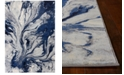 """Kas Illusions Watercolors 3'3"""" x 4'11"""" Area Rug"""