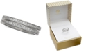 Giani Bernini 2-Pc. Set Cubic Zirconia Bands in Sterling Silver, Created for Macy's