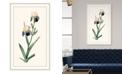 "Melissa Van Hise Redoute Iris III Framed Giclee Wall Art - 28"" x 46"" x 2"""