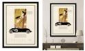 "Melissa Van Hise Cadillac Framed Giclee Wall Art - 35"" x 45"" x 2"""