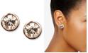 Givenchy Earrings, Rose Gold-Tone Swarovski Element Stud Earrings