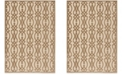 """Martha Stewart Collection Hickory 8' x 11'2"""" Area Rug, Created for Macy's"""