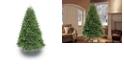 Puleo International 7.5 ft.Unlit Davidson Fir Premier Artificial Christmas Tree