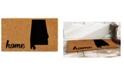 """Home & More Alabama 18"""" x 30"""" Coir/Vinyl Doormat"""