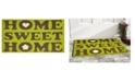 """Home & More Home Sweet Home 17"""" x 29"""" Coir/Vinyl Doormat"""