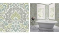 "Brewster Home Fashions Garden of Eden Damask Wallpaper - 396"" x 20.5"" x 0.025"""