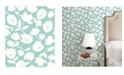 "Brewster Home Fashions Matilda Floral Wallpaper - 396"" x 20.5"" x 0.025"""