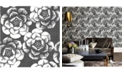 "Brewster Home Fashions Fanciful Floral Wallpaper - 396"" x 20.5"" x 0.025"""