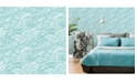 "Brewster Home Fashions Mare Wave Wallpaper - 396"" x 20.5"" x 0.025"""
