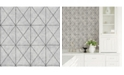 "Brewster Home Fashions Intersection Geometric Wallpaper - 396"" x 20.5"" x 0.025"""