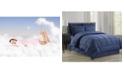 Elegant Comfort Wrinkle Resistant - Silky Soft Vine Bed-in-a-Bag 8-Piece Comforter Set - Hypoallergenic Full/Queen
