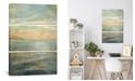 "iCanvas Serene Sea Ii by Danhui Nai Gallery-Wrapped Canvas Print - 60"" x 40"" x 1.5"""