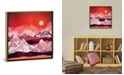 """iCanvas """"Scarlet Glow"""" by Spacefrog Designs Gallery-Wrapped Canvas Print"""