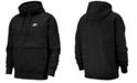 Nike Men's Club Fleece Colorblocked Half-Zip Hoodie