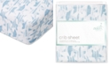 aden by aden + anais Baby Boys Retro Printed Cotton Crib Sheet