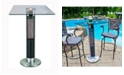 Ener-G+ Infrared Electric Outdoor Heater - Bistro Table with LED