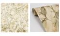 "Brewster Home Fashions Brewster 21"" x 396"" Portofino Cow Leaves Wallpaper"