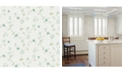"Advantage 20.5"" x 369"" Samuelsson Light Small Floral Trail Wallpaper"