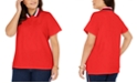 Tommy Hilfiger Plus Size Polo Shirt