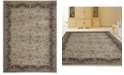 "KM Home CLOSEOUT! 3810/0030/CREAM Gerola Ivory/ Cream 3'3"" x 4'11"" Area Rug"