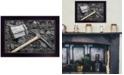 "Trendy Decor 4U Coal Mining by Lori Deiter, Ready to hang Framed Print, Black Frame, 20"" x 14"""