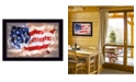 "Trendy Decor 4U Oh Beautiful America By Lauren Rader, Printed Wall Art, Ready to hang, Black Frame, 21"" x 15"""