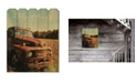 "Trendy Decor 4U Welcome to the Country by Anthony Smith, Printed Wall Art on a Wood Picket Fence, 16"" x 20"""