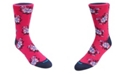 DUCHAMP LONDON Men's Floral Dress Sock