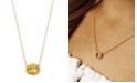 Macy's Gemstone Twist Gallery Necklace in 14k Yellow Gold