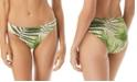 Vince Camuto Tropical Palm Printed Classic Bikini Bottoms