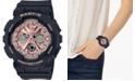 G-Shock Women's Analog-Digital Black Resin Strap Watch 43.3mm