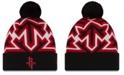 New Era Houston Rockets Big Flake Pom Knit Hat