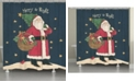 Laural Home Vintage St Nick Shower Curtain
