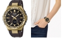 G-Shock Women's Solar Analog-Digital Wildlife Promising Black Resin Strap Watch 38.7mm