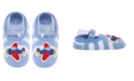 NWALKS Baby Boys and Girls Anti-Slip Cotton Socks with Airplane Applique