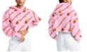 Champion Women's Reverse Weave Logo-Print Cutoff Hoodie