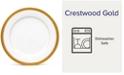 Noritake Crestwood Gold Dinner Plate
